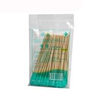 棉签,10cmx50支(竹棒型,单头)灭菌级