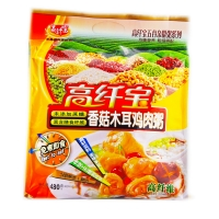 高纤宝五谷养生粥(香菇木耳鸡肉),480g