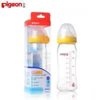 贝亲-宽口径玻璃奶瓶,AA71,240ml(黄色)