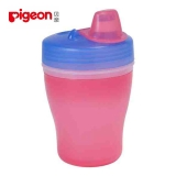 贝亲—双层保温饮水杯,DA29,(粉兰色杯)