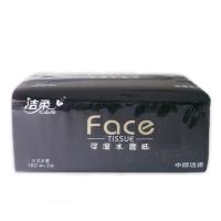 洁柔Face古龙水香味抽取式纸面巾,200mm*155mm*150抽(三层)JR060