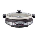 象印烧烤蒸煮多用电锅,EP-RAH30C  XJ不锈钢棕色