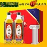 阿格利司特级初榨橄榄油礼盒,1L×2瓶