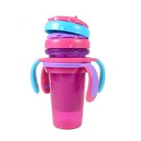 叠叠吸管杯2只装-女宝宝专用 Y3524