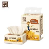 泉林成长搭档180抽塑装面巾纸,3包/提(QR180A)