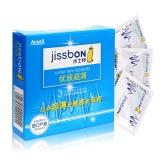 天然胶乳橡胶避孕套(杰士邦),3只(优质超薄香草香)