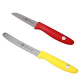 双立人银点炫彩蕃茄刀+蔬果刀套装 ,32874-006-722