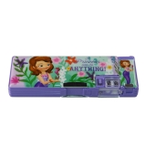 多功能塑料文具盒P91012蓝色