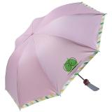天堂伞三折超轻晴雨伞,33283E心盟校园 粉色
