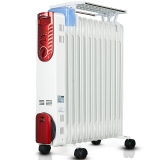 先锋(Singfun) 取暖器/家用电暖器/电暖气/12片电热油汀 DS1342