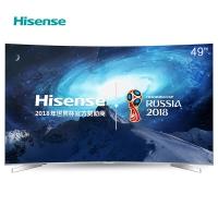 海信(Hisense)LED49EC780UC 49英寸 曲面4K智能平板电视 HDR动态显示 64位14核处理 (金属灰)