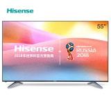 海信(Hisense)LED55EC500U 55英寸 4K超高清 VIDAA4.0 智能电视 丰富影视教育资源 (黑色)