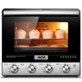 北美电器(ACA)38L立式电烤箱家用烘焙 背部涡轮热风ATO-M38AC