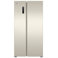 晶弘(KINGHOME)595升风冷无霜对开门冰箱  智能触屏 离子长效净味系统 格力晶弘 BCD-595WEDC2(金拉丝)