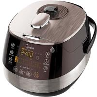 美的(Midea)电压力锅 浓香钢胆 中途加菜 预约定时 PSS5051P 5L高压锅