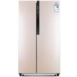 澳柯玛(AUCMA)BCD-560WDH 560升 对开门冰箱 风冷保鲜 电脑智能控制(金)