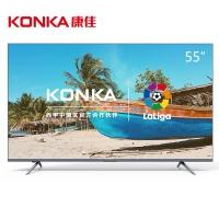 康佳(KONKA)V55U 55英寸4K超高清36核HDR金属边框MEMC人工智能电视