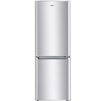 韩电(KEG)BCD-179JD 179升小型 双门电冰箱 家用冷藏冷冻节能保鲜(拉丝银)