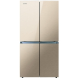 康佳(KONKA)BCD-401BX4S 401升 多门冰箱 十字对开冰箱 实用四门(金色玻璃)