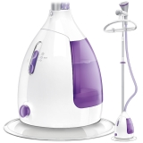 飞利浦 (PHILIPS) 蒸汽挂烫机 家用三档2000W熨衣 GC536/38 (高贵紫)
