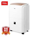 TCL 除湿机/抽湿机 除湿量25升/天 适用面积30-50平方米 噪音分贝47分贝 大除湿量/高效节能/静音定时 DET25E