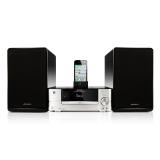 山水(SANSUI)MC-1508D2台式DVD台式迷你组合音响苹果蓝牙CD音响播放器 主机银色