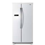 统帅(Leader)BCD-649WLE 649升 风冷无霜 对开门冰箱(智能控温 深冷速冻 白色)海尔 荣誉出品