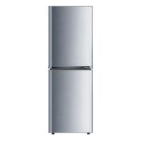 康佳(KONKA)BCD-182TA 182升 双门冰箱 金属面板 保鲜静音(银色)
