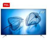 TCL D49A630U 49英寸超薄金属机身30核HDR 4K超清智能电视机(黑色)