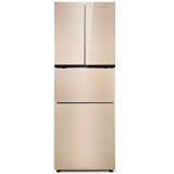 创维(Skyworth)D26AG 260升法式多门冰箱 多变空间 分区保鲜 玻璃面板(皓金)