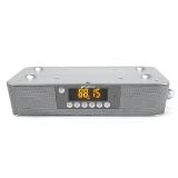 山水(SANSUI)MC-610迷你组合音响 厨房音响插卡 无线蓝牙播放器 白色