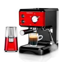 摩飞(Morphyrichards) MR4677 泵压式咖啡机 意式蒸汽奶泡