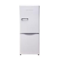 大宇(DAEWOO)ODF-M300W 150L 经典复古迷你小型双门电冰箱 家用无霜 冷藏保鲜 珍珠白色