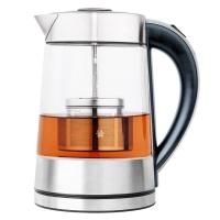 西摩(SMAL) 电水壶1.7L 玻璃电热水壶 烧水壶带茶篮 WK-0815C