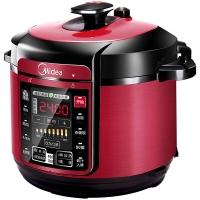 美的(Midea)电压力锅 七段调压 收汁入味 WQC60A5 6L大容量高压锅