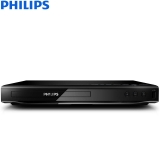 飞利浦(PHILIPS)DVP2886/93 DVD播放机 高清DVD VCD 音箱 CD播放机 USB播放器 HDMI高清1080P 音响影碟机 黑色