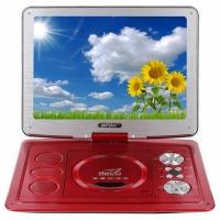 先科(SAST)FL-138C 10.4英寸便携遥控电视移动DVD老年视频机看戏机唱戏机(红)