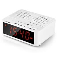 纽曼(Newmine)BC-01 迷你音响 插卡收音机无线蓝牙闹时钟(白色)