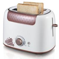 小熊(bear)多士炉 烤面包机家用2片早餐机 吐司机 6档烘烤带防尘盖 DSL-6921