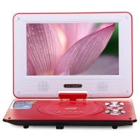 先科(SAST)FL118A 9英寸移动DVD播放机看戏机唱戏机便携电视(红)