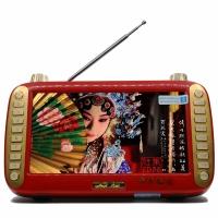 先科(SAST)KK-621K 7英寸看戏机老年唱戏机移动便携视频机