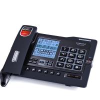 中诺(CHINO-E)G025 可扩充SD卡/带4G卡/数码录音电话机座机办公/家用座机电话/固定电话座机 雅士黑