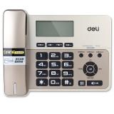 得力(deli) 796 典雅老板经理横式来电显示电话机/固定电话/座机 液晶显示