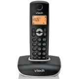 伟易达(Vtech)VT1047CN 数字无绳电话机单机背光家用座机固定办公无线主机 黑色