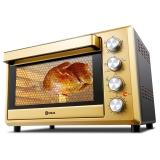 东菱(Donlim)38升/L 电烤箱 热风循环 双层玻璃门 旋转烤叉 家用烘焙 DL-K40PLUS