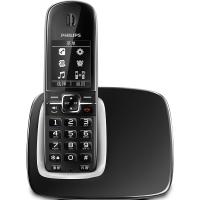 飞利浦(PHILIPS) DCTG490 数字无绳电话机 来电显示/数字无绳/语音报号/全中文菜单/免提通话(黑色)