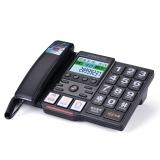 中诺(CHINO-E) C219 来电报号/大按键/黑名单功能电话机座机办公/家用座机电话/固定电话座机 黑色