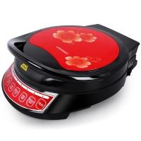 利仁(Liven)电饼铛家用双面加热煎烤机LRT-310B盛行(红色)