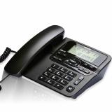 飞利浦(PHILIPS)CORD118 免电池 来电显示电话机/家用座机/办公座机 黑色