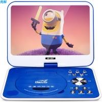 先科(SAST)32S 便携式移动DVD播放机(巧虎dvd影碟机cd 唱戏机移动看戏视频机 硬盘光盘播放器9英寸)蓝色